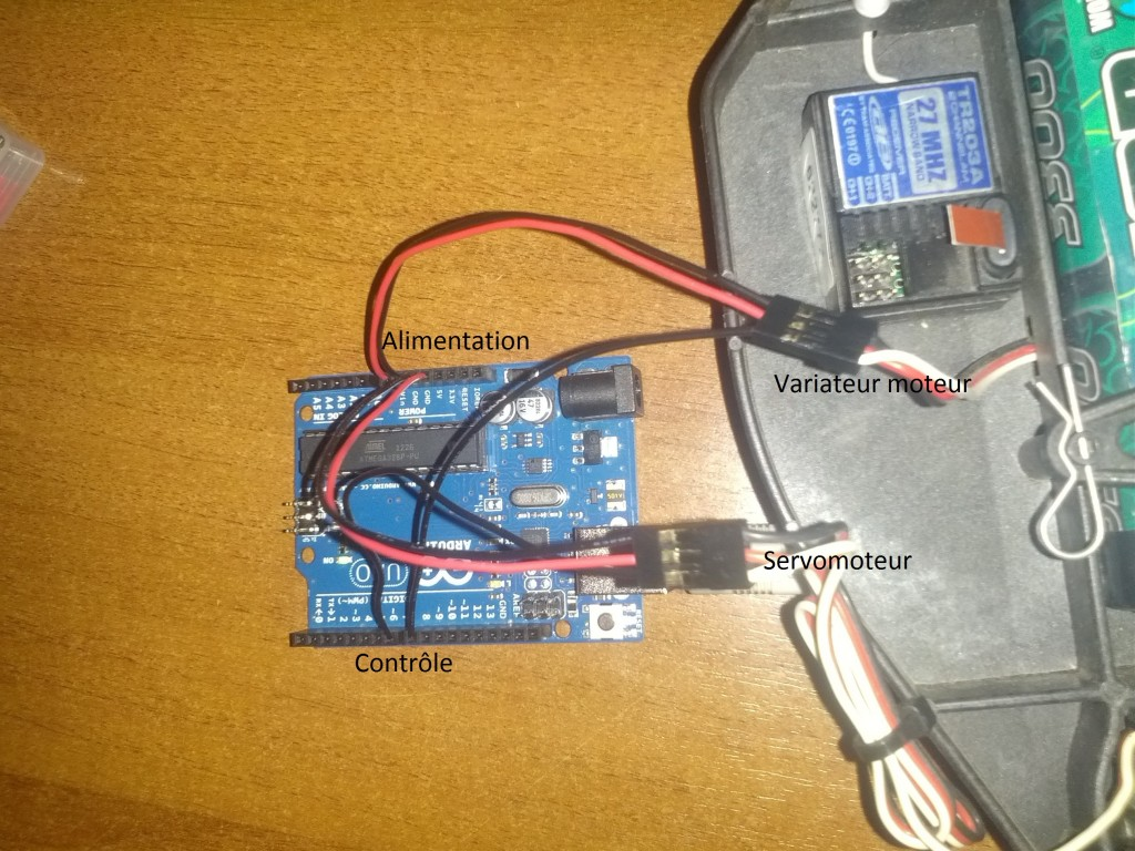 contr le d une voiture rc avec arduino uno blog technique. Black Bedroom Furniture Sets. Home Design Ideas